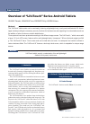 NEC LifeTouch Series Overview 6 pages