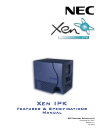 NEC XEN IPK DIGITAL TELEPHONE Features & Specifications  Manual 640 pages