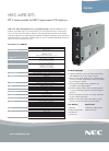 NEC MPD-DTi Specification 2 pages