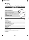 NEC NW-452 Instruction Manual 17 pages