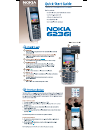Nokia 6236i Quick Start Manual 2 pages