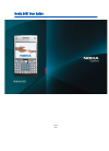 Nokia IP40 - Satellite Unlimited - Security Appliance Operation & User's Manual 209 pages