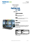 Nokia RM-626 Service Manual 38 pages