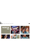 Nokia N70 Operation & User's Manual 121 pages