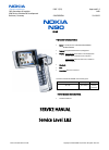 Nokia RM-42 Service Manual 29 pages
