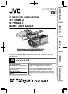 JVC GY-HMZ1U Basic User's Manual 40 pages