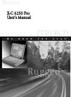 Itronix X-C 6250 Pro Operation & User's Manual 173 pages