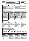 JVC KV-CM20 Instructions Manual 12 pages