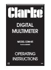 Clarke CDM-35
