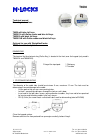 M-LOCKS T6530 Technical Manual 2 pages