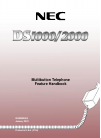 NEC DS2000 IntraMail Feature Handbook 148 pages