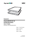 NEC EXPRESS5800 N8403-019 Operation & User's Manual 147 pages