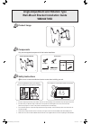 Samsung WMN4070SD Installation Manual 4 pages