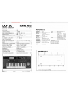 Roland DJ-70 Service Notes 22 pages