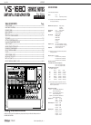 Roland VS-1680 Service Notes 29 pages