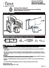 Patriot Lighting E6956W Manual 9 pages