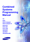 Samsung iDCS500 Programming Manual 410 pages