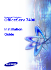 Samsung OfficeServ 7400 Installation Manual 82 pages