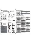 Samsung ED32C Quick Setup Manual 2 pages