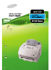 Samsung SF-530 Operation & User's Manual 58 pages
