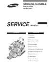 Samsung SF-5800 Service Manual 210 pages