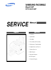 Samsung SF-5100P Service Manual 192 pages