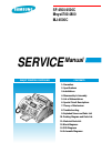 Samsung SF4500 Service Manual 130 pages