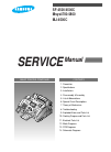 Samsung SF4500 Service Manual 117 pages
