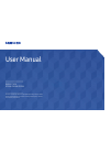 Samsung SNOW-1703U Operation & User's Manual 98 pages