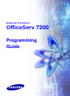 Samsung 7200 Programming Manual 409 pages
