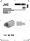 JVC Everio GZ-MG730 Instructions manual