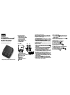 Insignia NS-MBTK35 Quick Setup Manual 2 pages