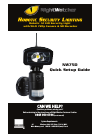 NightWatcher NW750 Quick Setup Manual 10 pages