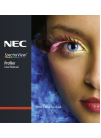 NEC SpectraView Profiler 5 Operation & User's Manual 79 pages
