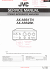 JVC AX-A661TN Service Manual 39 pages