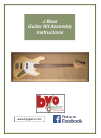 BYO Guitar J Bass Assembly Instructions Manual 28 pages
