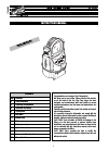 Clay Paky C C71050 Instruction Manual 20 pages