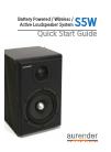 Aurender S5W Quick Start Manual 11 pages
