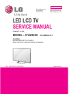 LG 55LM6700 Service manual