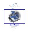 Kontron Revolution plus Operation & User's Manual 85 pages