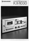 Kenwood KX-1030 Manual 6 pages