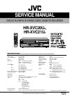 JVC HR-XVC20U Service Manual 129 pages