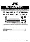 JVC HR-XVC28BUS Service Manual 91 pages