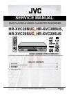 JVC HR-XVC28BUS Service Manual 149 pages