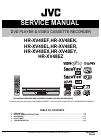 JVC HR-XV48EK Service Manual 82 pages