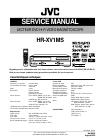 JVC HR-XV1EU-C Service Manual 25 pages