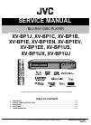 JVC XV-BP1C Service Manual 45 pages