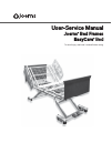 Joerns Healthcare EasyCare User & Service Manual 18 pages