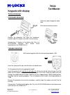 M-LOCKS T9530 TechMaster Technical manual