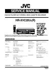 JVC HR-XVC20USR Service Manual 62 pages